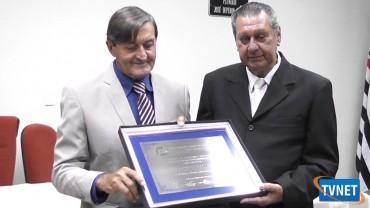 SR NIVALDO ROSSIN RECEBE TITULO DE CIDADÃO PALMEIRENSE