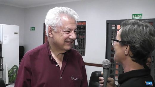 Deputado Arlindo Chinaglia Visita Sta Cruz das Palmeiras