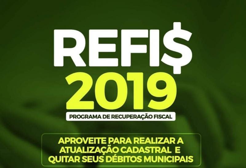 Prefeitura Municipal de Sta Cruz das Palmeiras lança o REFIS 2019