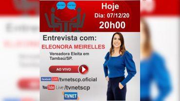 "Entrevista com ""ELEONORA MEIRELLES""."