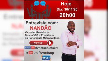 """Entrevista com """"NANDÃO VIANA""""."""