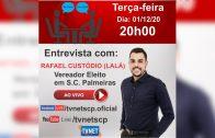"Entrevista com ""RAFAEL CUSTÓDIO"" (LALÁ)."