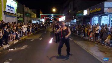Desfile de Natal em Tambaú