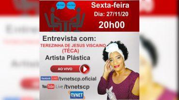 """Entrevista com """"TERESINHA DE JESUS"""" (TÉKA)."""