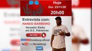 """Entrevista com Vereador Eleito """"NANDO BARBEIRO""""."""