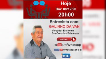 """Entrevista com """"GALINHO DA VAN""""."""