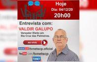 """Entrevista com """"VALDIR GALUPO""""."""